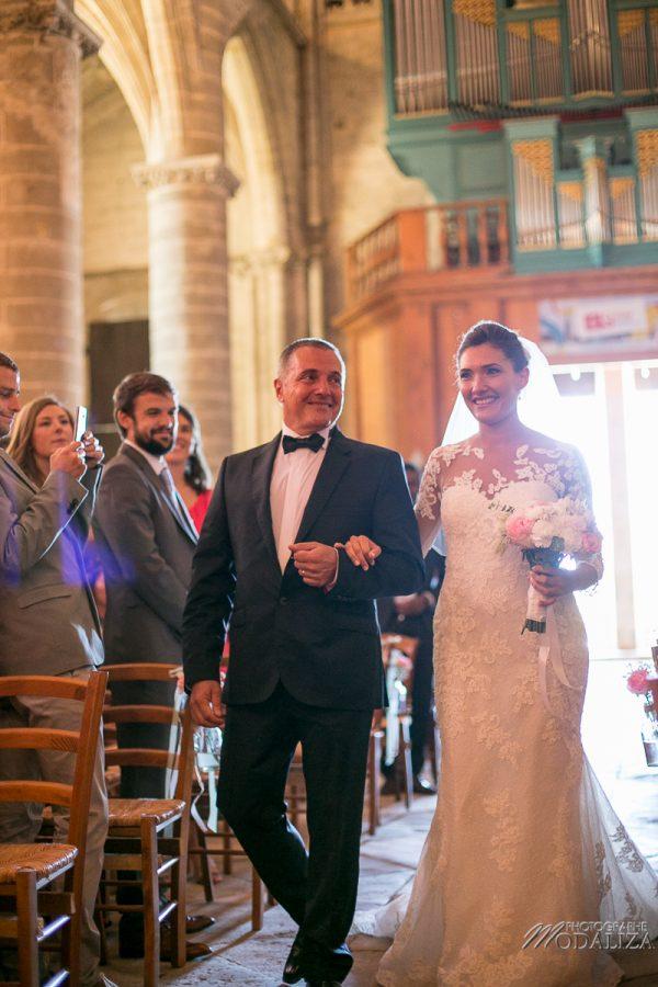 photo mariage wedding robe dentelle eglise church cathedrale bazas gironde by modaliza photographe-61
