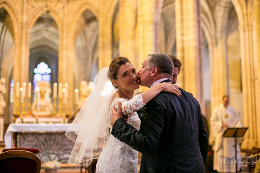 photo mariage wedding robe dentelle eglise church cathedrale bazas gironde by modaliza photographe-74