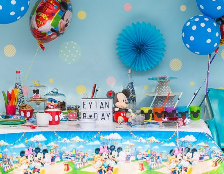 Inspiration Anniversaire Mickey DIY