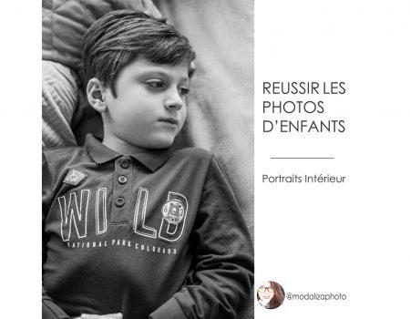 Reussir les photos de ses enfants – conseils