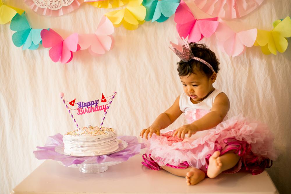 Conseils photo premier anniversaire Cakesmash