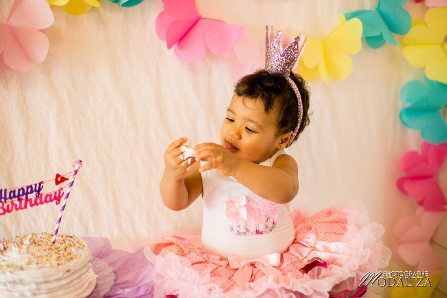 photo premier anniversaire bebe cake smash gateau fete first birthday cap ferret bordeaux by modaliza photographe-1064