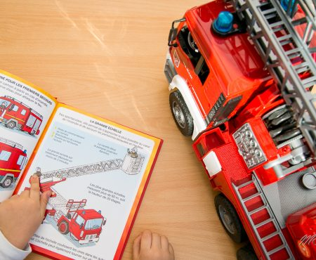 Les Schtroumpfs et les pompiers, les nouveaux livres Fleurus