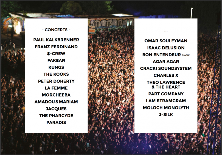 climax festival concerts