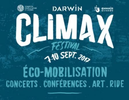 Climax Festival a Bordeaux 7-10 septembre