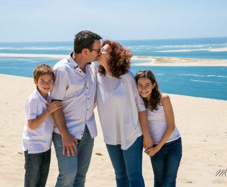 Famille a la dune du pila
