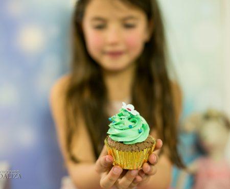 Cake smash – premier anniversaire printanier