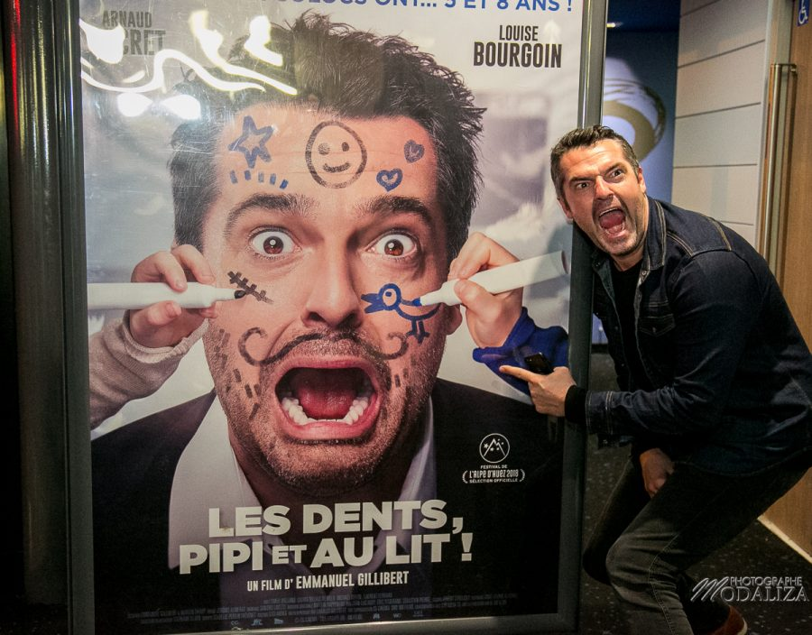 photo arnaud ducret avant premiere dents pipi et au lit cinema cgr villenave d ornon bordeaux by modaliza photographe-9148
