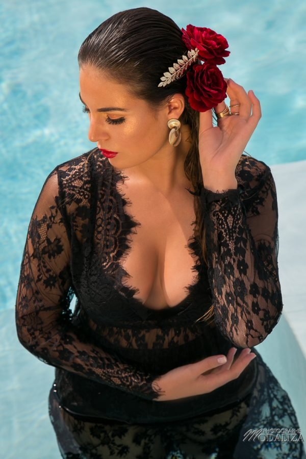 photo mode piscine fashion summer suany makeup glamour red lips mannequin bordeaux gironde by modaliza photographe-5366