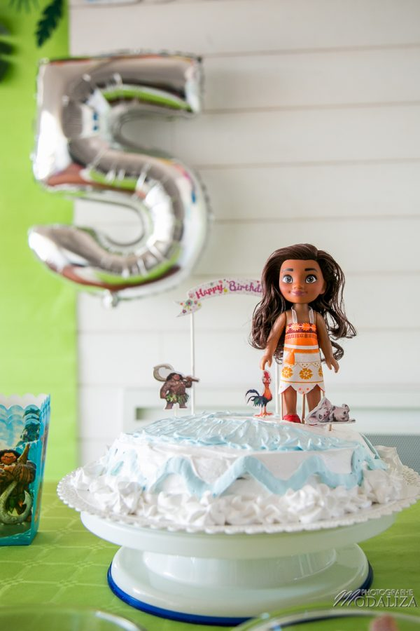 anniversaire vaiana birthday diy ocean cake photobooth sweet table tropical party by modaliza photographe-2188