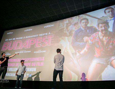 Cinema: Budapest avec Manu Payet et Mr Poulpe