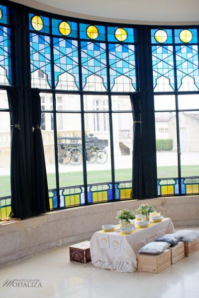 photo cérémonie enfants mariage jaune amour d'enfance little wedding yellow bordeaux chateau pape clement by modaliza -6457