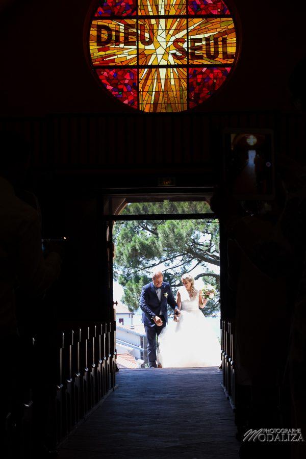 photo mariage eglise moulleau arcachon ceremonie rose romantic notre dame des passes bassin d arcachon by modaliza photographe-0284