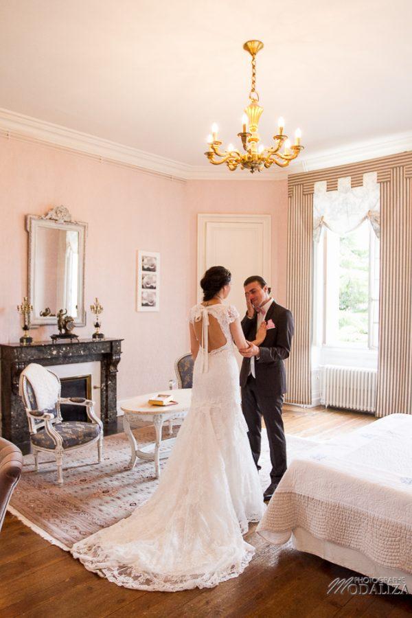 photo mariage wedding lace dress cymbeline pink ceremonie laique chateau pontet eyrans gironde france by modaliza photographe-0177