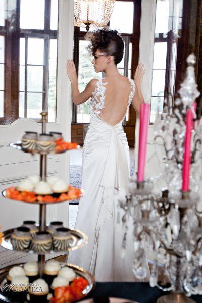 photo mode inspiration mariage decoration argent noir violet wedding bride mariée baroque rock fashion chateau grenade castle gironde by modaliza-0949-2
