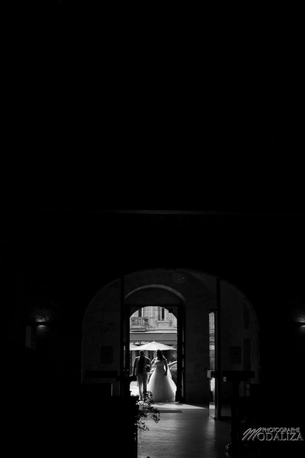 photo reportage mariage ceremonie religieuse wedding dress lace robe dentelle vintage eglise pessac gironde by modaliza photographe-8824