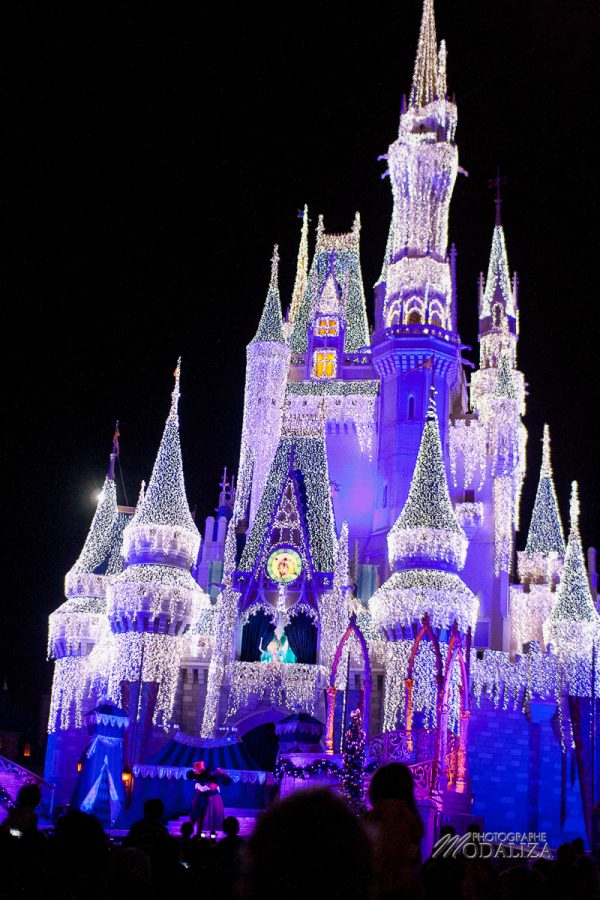 disney orlando disneylworld magic kingdom castle cinderella by night chateau cendrillon modaliza blog-48