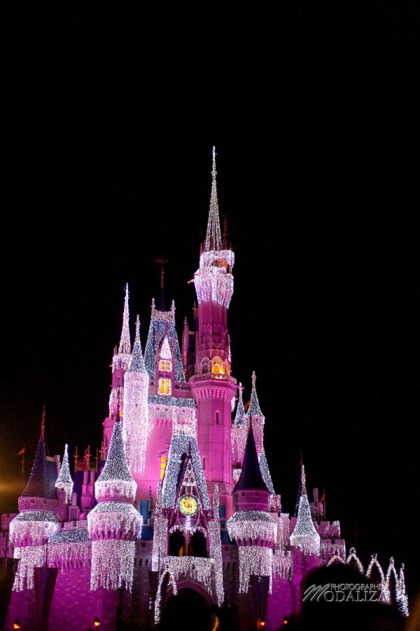disney orlando disneylworld magic kingdom castle cinderella by night chateau cendrillon modaliza blog-48-19