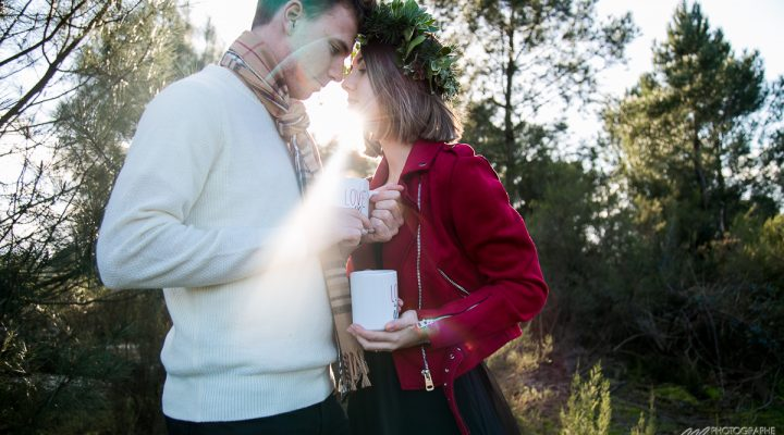 Winter lovers – love session