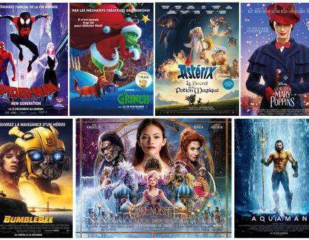 Films a voir pendant ces vacances au cinema