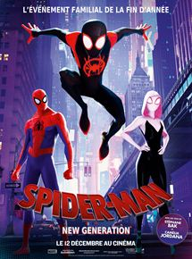 spiderman new generation dessin animé film avis critique cinema blog maman blogueuse modaliza