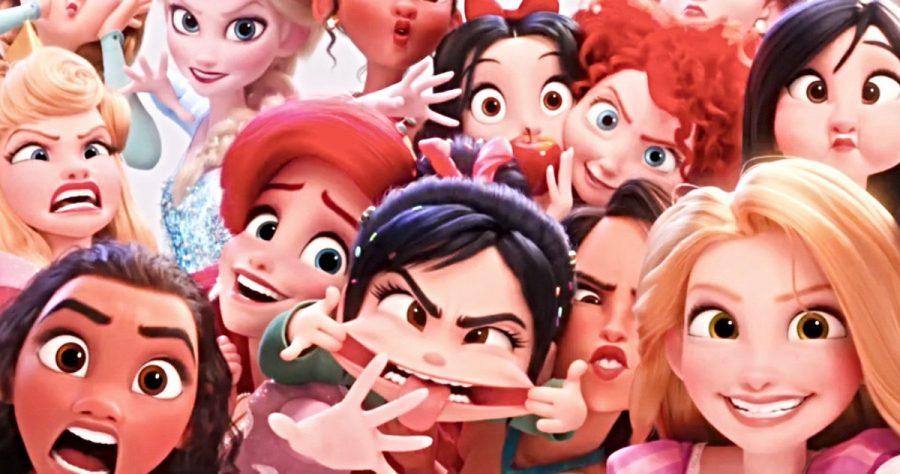 Wreck-It-Ralph-2-Avant-première-avec-les-Princesses-Disney-et-la-queue-de-Gal-Gadot