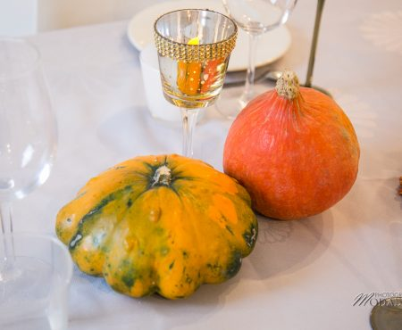 Une table deco Halloween chic