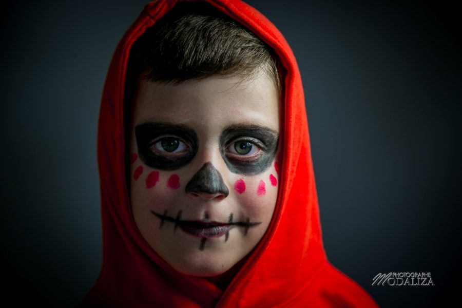 maquillage halloween deguisement enfant garcon facile coco miguel disney by modaliza photographe-64