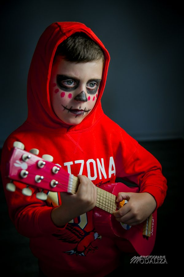maquillage halloween deguisement enfant garcon facile coco miguel disney by modaliza photographe-69