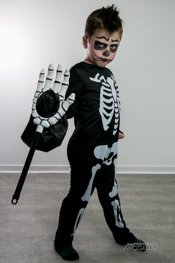 maquillage halloween deguisement enfant garcon facile squelette mort by modaliza photographe-35