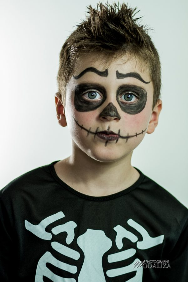 maquillage halloween deguisement enfant garcon facile squelette mort by modaliza photographe-46