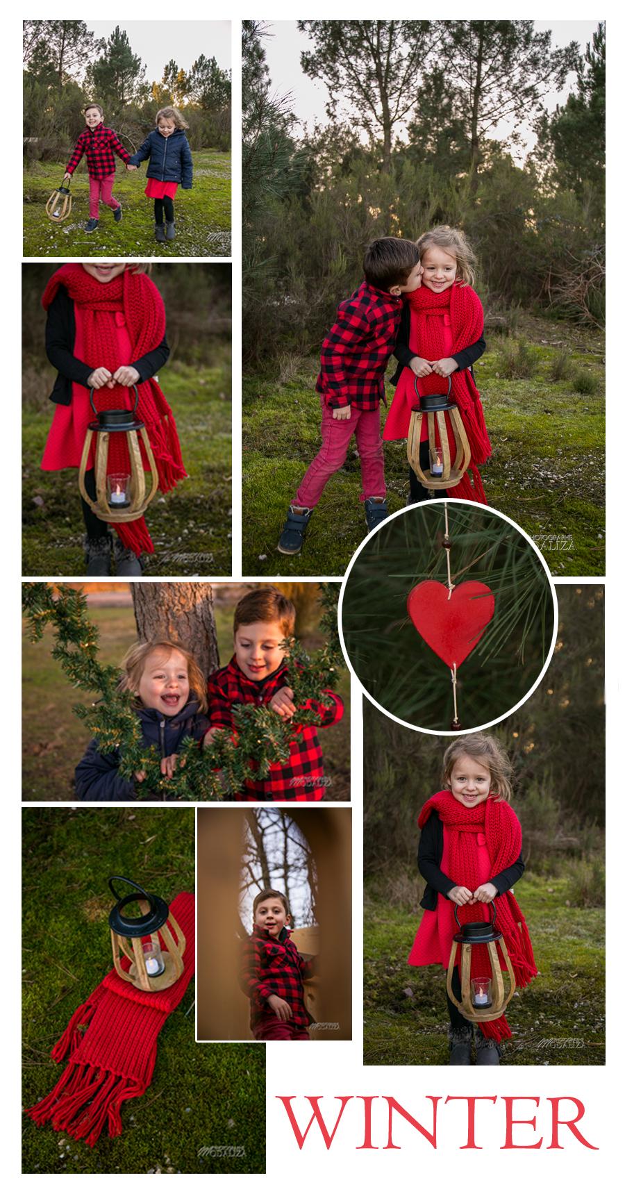 amour 4 saisons photo couple hiver winter kids enfants by modaliza photographe