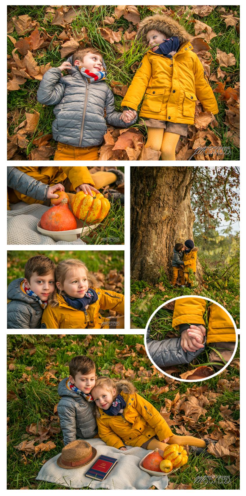 amour 4 saisons photo couple automne kids enfants by modaliza photographe