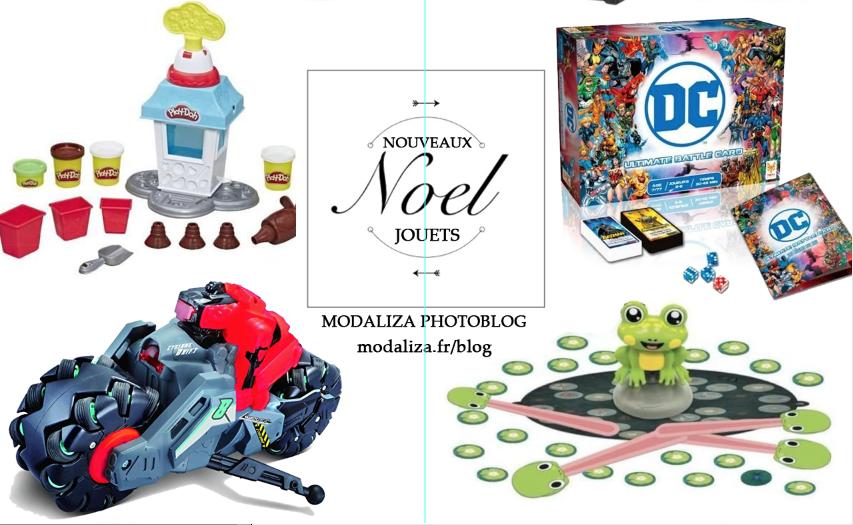 Noel nouveaux jouets et jeux presentation