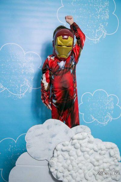 Iron man deguisement activité photo enfant kid by modaliza photo blog