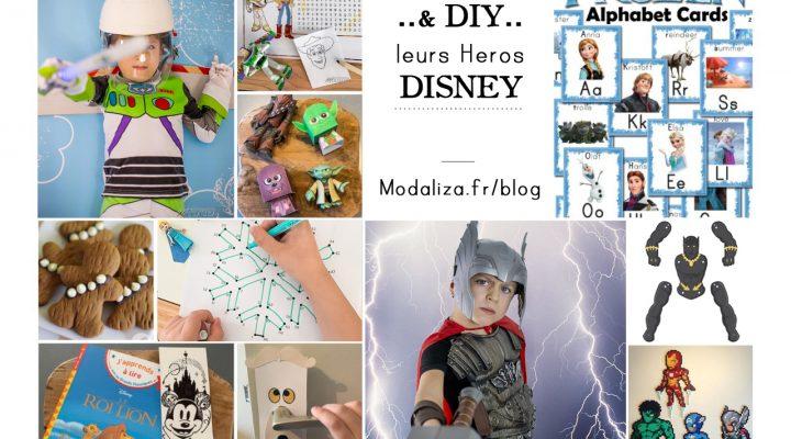 Activités & DIY Disney leurs Heros