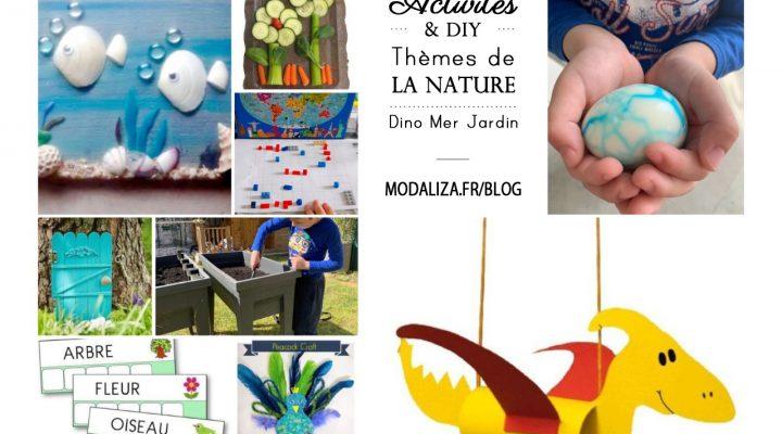 Journée d'activités & DIY – Thèmes de la Nature