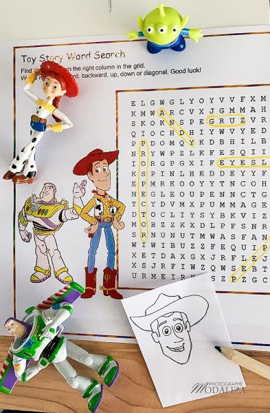 activite toy story mots meles dessin woody confinement occuper les enfants by modaliza photo blog